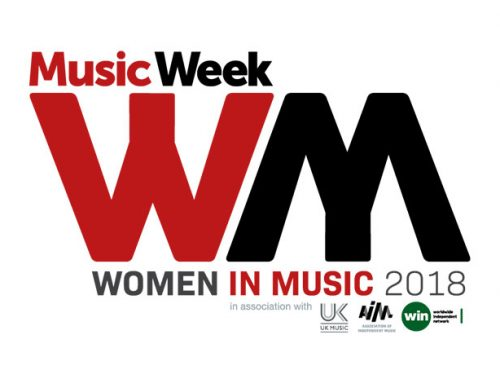 Joyce Smyth was voted business woman of the year at the 2018 Music Week: Women in Music awards